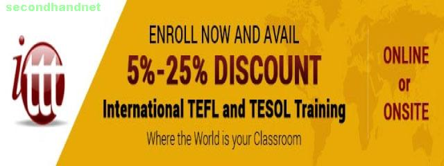 ENROLL NOW AND AVAIL 5%-25% DISCOUNT - International TEFL an
