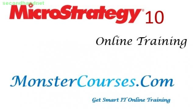 Microstrategy 10 Online Training, Microstrategy Online Training.