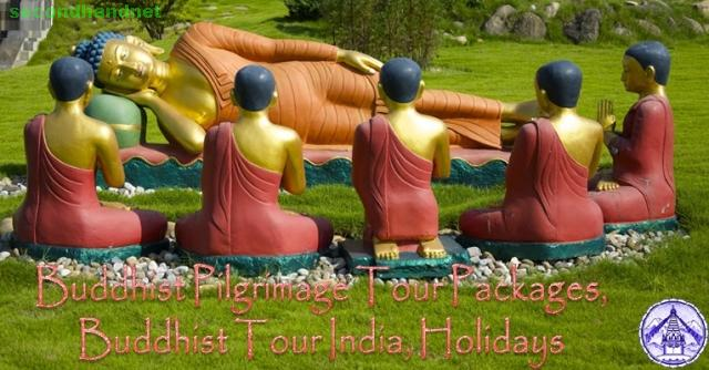 Buddhist Pilgrimage Tour Packages, Buddhist Tour India, Holidays