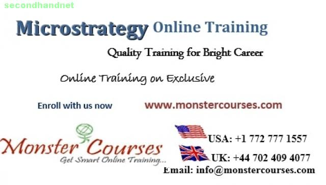 MICROSTRATEGY Online Training, MICROSTRATEGY 10 Online Training.