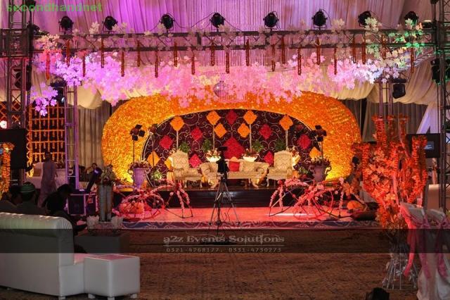 VVIP Stages setup, Mehndi setup, Walima setup, Stages Designer