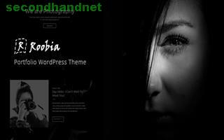 Roobia Portfolio WordPress Theme for Photographers by zozothemes