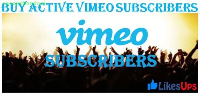 Buy Active Vimeo Subscribers