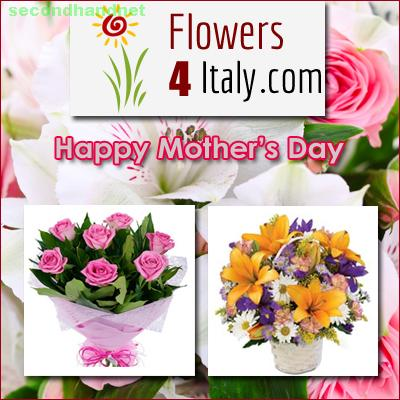Mother's Day Flowers Delivery in Italy