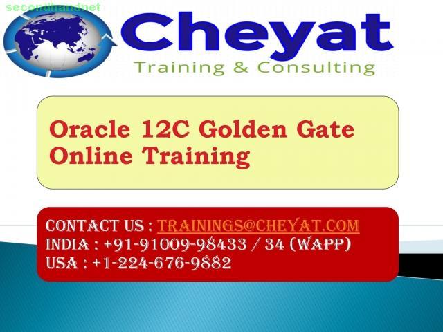 oracle 12C goldengate online training