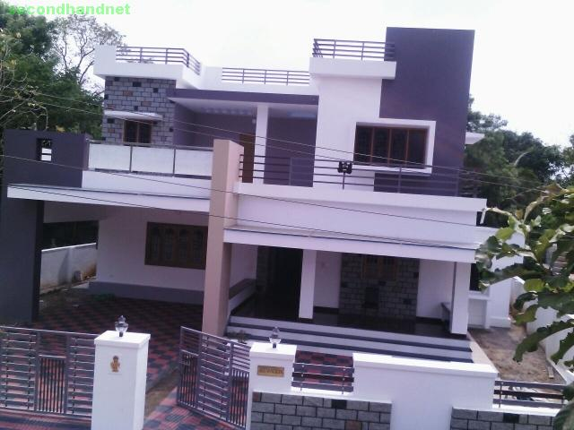 10 cent land 3300sqft NEW CONTEMPORARY HOUSE Thannissery, Palakkad (09947851282)