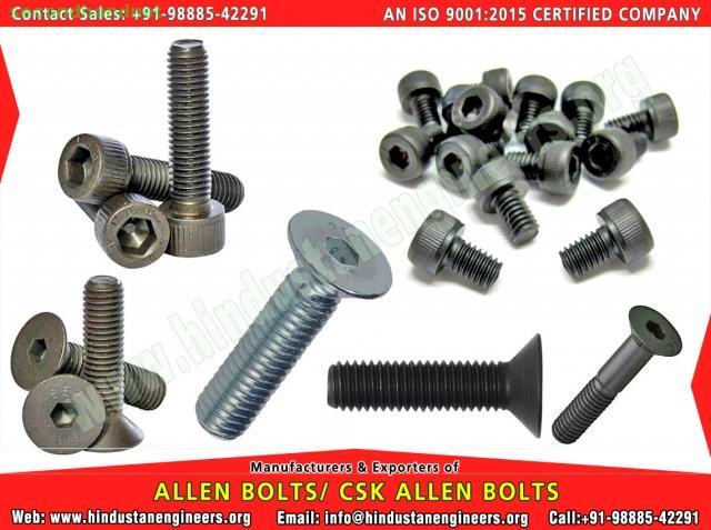 Allen CSK Bolts