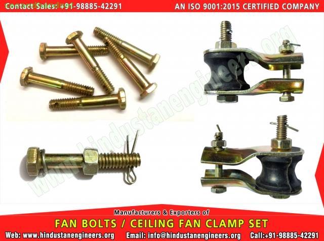Fan Bolts / Fan Clamps