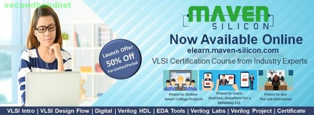 Maven Silicon offers online VLSI Courses