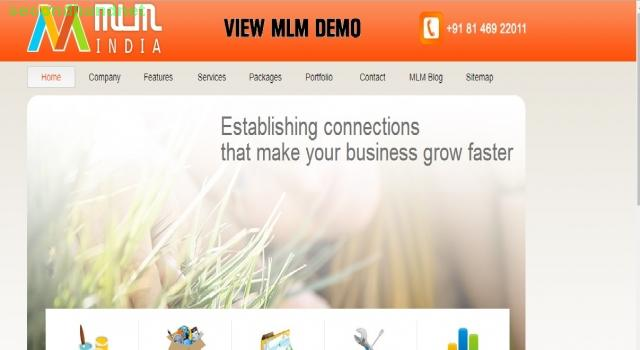 MLM software company, website MLM binay, MLM matrix provide over india