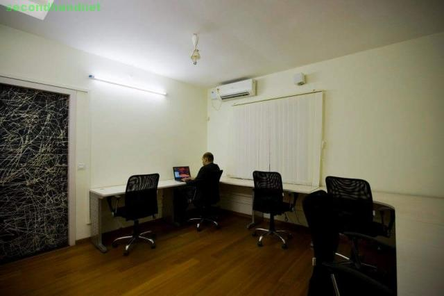 Full furnished office space for team of 4 to 6seater for rent @Canaans