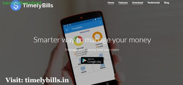 Best Personal Finance App Android - Timelybills.App