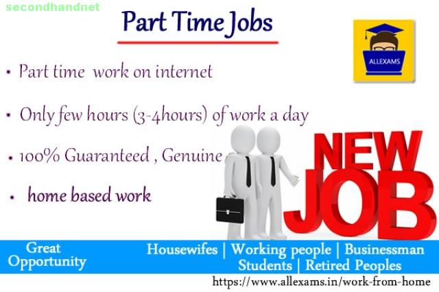 Work Part Time With All Exams - A Leading Online Exam Portal In India