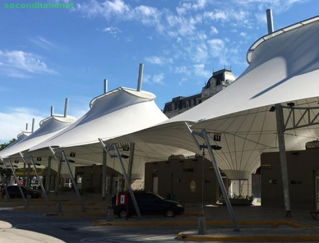Tensile Structure, Tensile Car Parking, Tensile Fabric Structure Manufacturers i