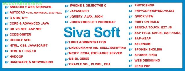 Online Oracle SQL PL/SQL Training Course Institutes in Ameerpet Hyderabad India