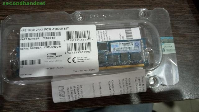 sale HP 16GB RAM DDR-3 L-12800KIT PART NO 713985-B21