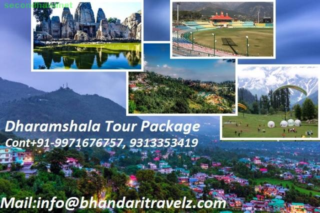 Book Your Dharamshala Tour Package with Bhandari Travelz Pvt. Ltd