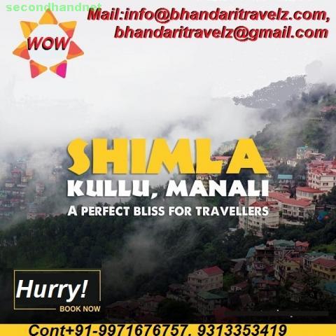 Explore Shimla Tourism with Bhandari Travelz Private Limited