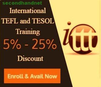 ENROLL NOW AND AVAIL 5%-25% DISCOUNT - International TEFL and TESOL Training - O