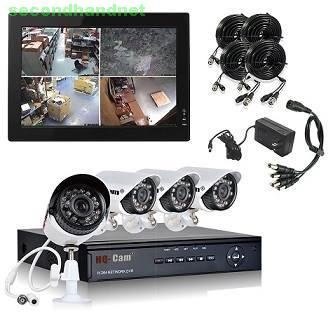 High Performance CCTV Security Cameras for Home and Business Use.