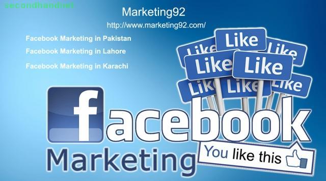 Facebook Marketing in Pakistan - Facebook Marketing in Lahore