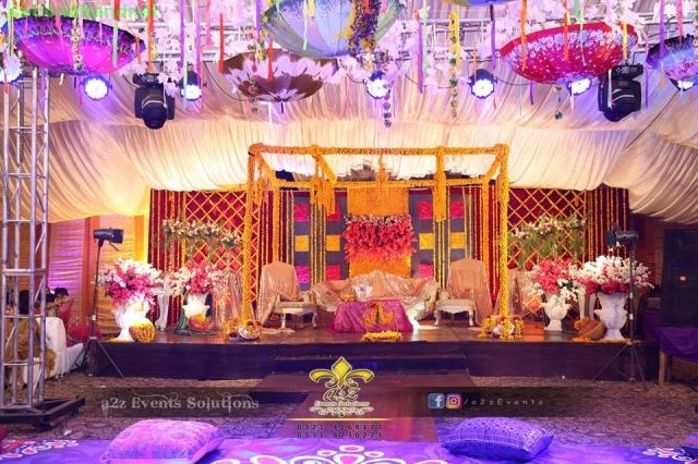 Expert events planners, Professional mehndi, barat and walima weddings setups