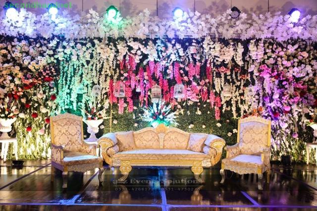 Wedding Planner, designer and decorator in Lahore, Gujranwala, Faisalabad and in