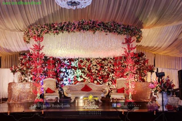 High end event or wedding planner, designer and decorator