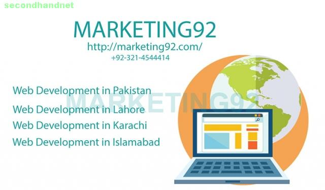 Leading services of Web development in Lahore, Pakistan