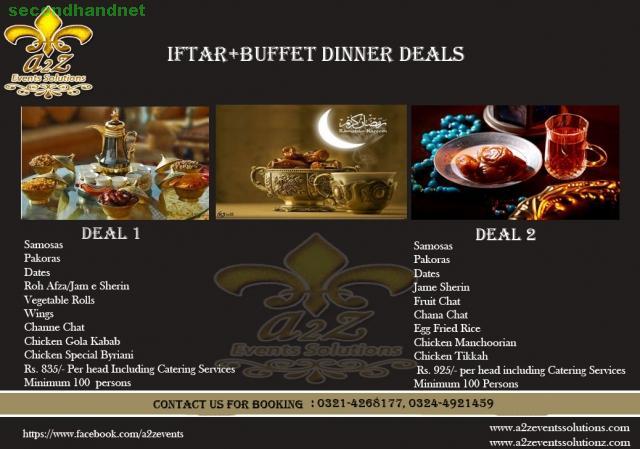 Ramadan Iftar Offer + Buffet Dinner Deals