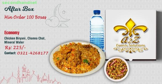 Best Iftar Box deal in Lahore