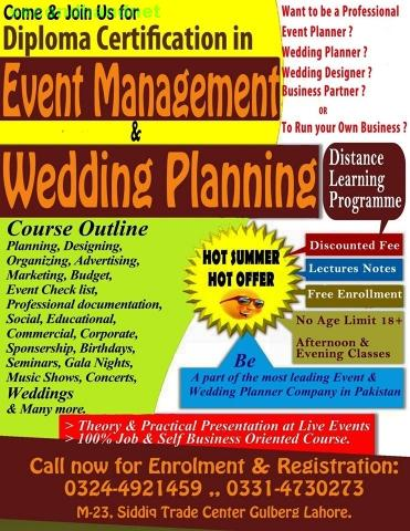 Event Management Certification and Training Workshop